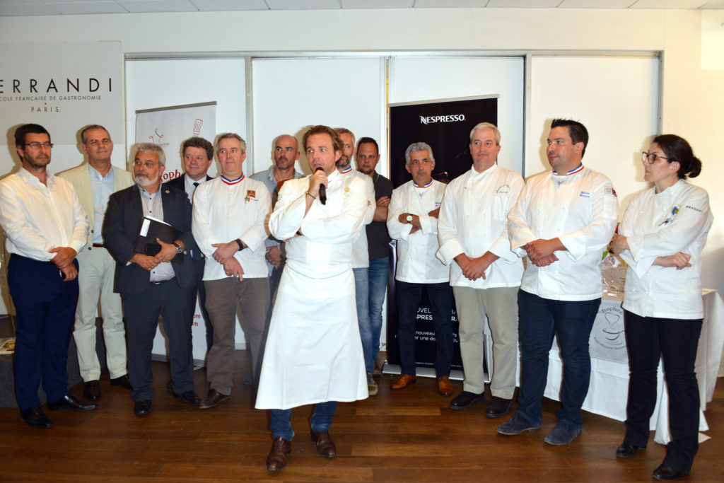 Jury 2017 - Trophée Petit Déjeuner Gourmand
